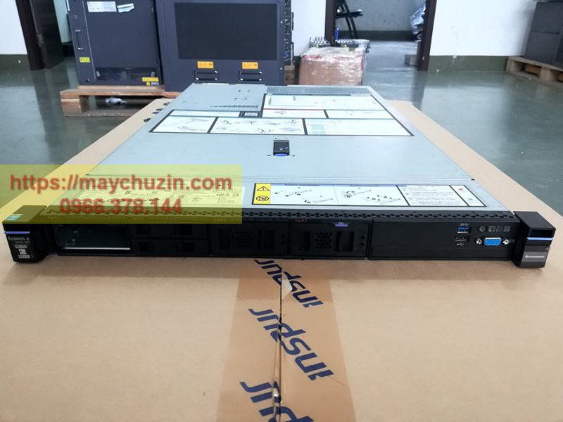 Máy chủ IBM system X3550 M5 xeon E5-2600 V3 V4 DDR4