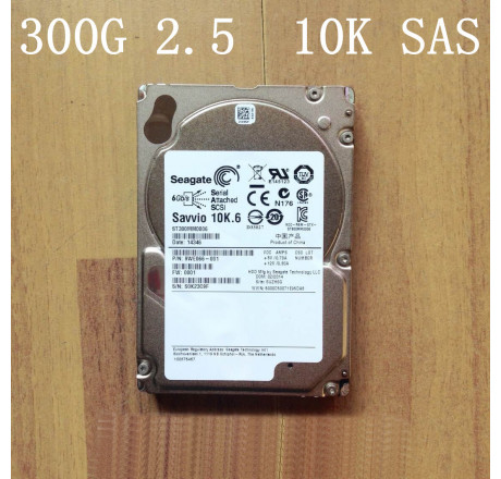 Ổ cứng HDD seagate  2.5 inch sas 300G 10k 6G HP Dell IBMST300MM0006