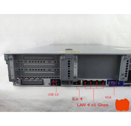 Máy chủ HP Proliant DL380 Gen9 E5-2600 V3 V4 DDR4 chính hãng