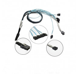 Cáp HP Mini SAS to 4 SATA 38in Cable Kit