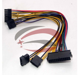 Cáp chuyển nguồn HP Z800 từ 24 pin thành 18pin và 10 pin