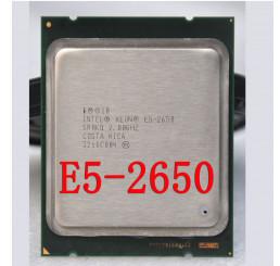 CPu intel xeon E5-2650 C2 phiên bản chính thức SR0KQ hỗ trợ ảo hóa