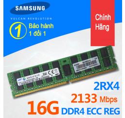 Ram máy chủ server Samsung 16GB 2RX4 PC4-2133P DDR4 ECC REG chính hãng