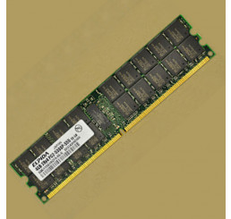Ram Elpida 4GB DDR2 667ECC REG PC2-5300P japan server workstation