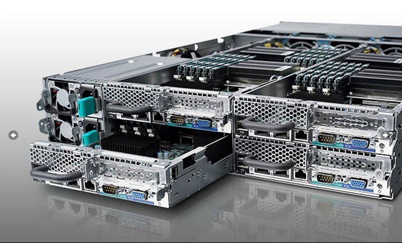 Máy chủ server DELL PowerEdge C6220 2u 4 node